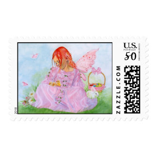 Spring Easter Fairy Bunny Postage