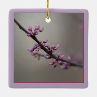 Spring/Easter: Swallowtail Butterfly/Redbud Ceramic Ornament