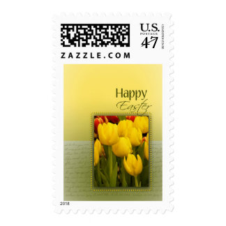 Spring Easter Tulips Postage