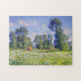 Spring Effect Giverny Monet Fine Art Jigsaw Puzzle