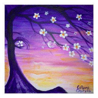 Spring emotion poster