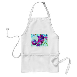 Spring Energies 4 Tulip Abstract Adult Apron