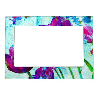 Spring Energies 4 Tulip Abstract Magnetic Picture Frame