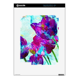Spring Energies 4 Tulip Abstract iPad 2 Decal