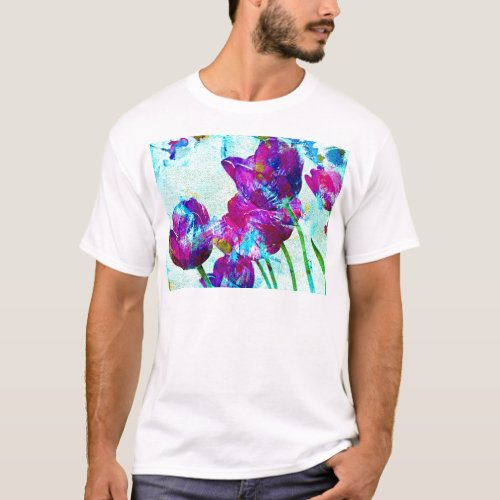 Spring Energies 4 Tulip Abstract T-Shirt