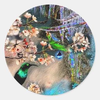 Spring Equinox Classic Round Sticker