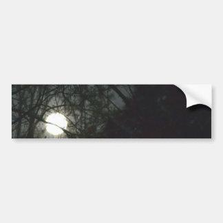 Spring Equinox Full Moon Bumper Sticker