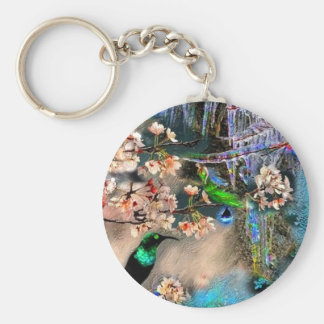 Spring Equinox, key-chain Keychain
