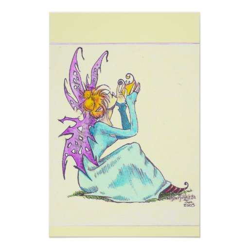 spring faerie print
