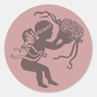 Spring Faerie Sticker