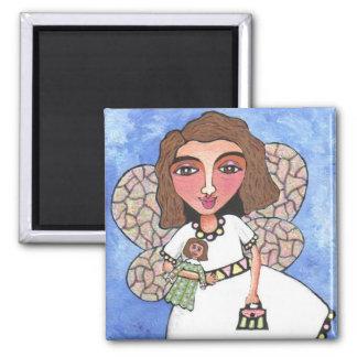 Spring Fairy #2 - magnet