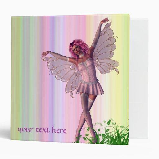 Spring Fairy Fantasy Binder