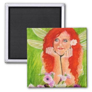 Spring fairy flower Magnet