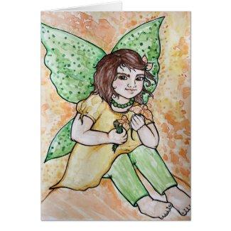 Spring fairy girl