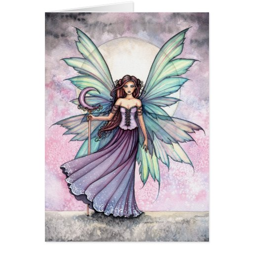 Spring Fairy Greeting Card by Molly Harrison