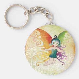 spring fairy key chains