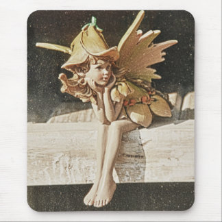 Spring Fairy Mouse Pad