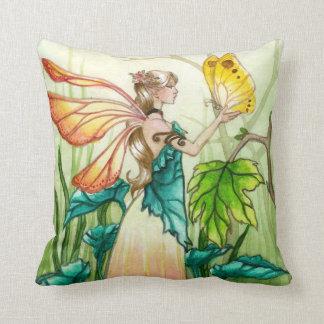 Spring Fairy Throw Pillows