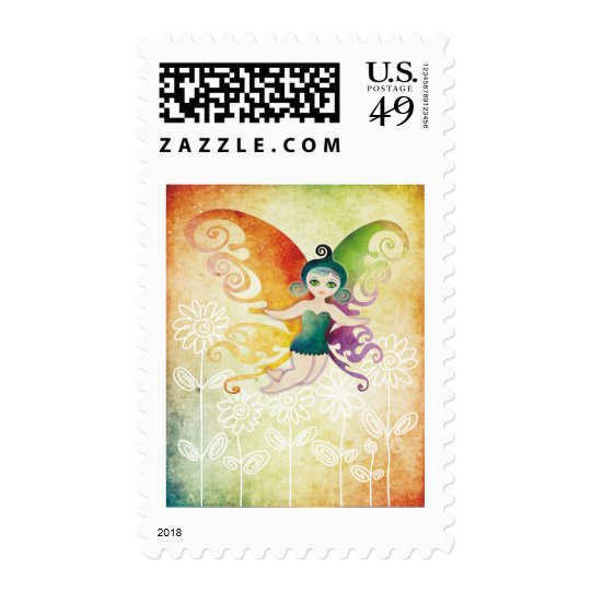 spring fairy postage