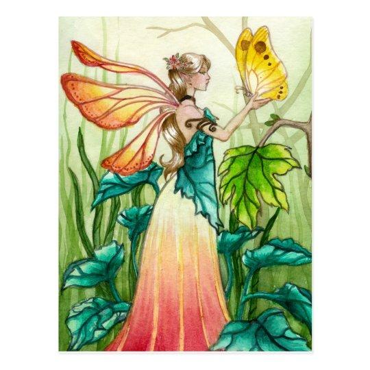 Spring Fairy Postcard Zazzle Com