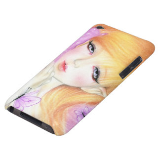 Spring  Fairy Violets ipod touch case