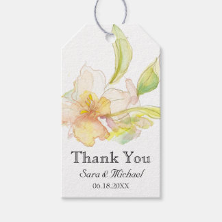 Spring Fantasy Pastel Watercolor Floral Gift Tags