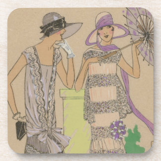 Spring Fashion Flappers Coaster