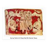 Spring Festival At King Mark By Meister Hesse Postcard