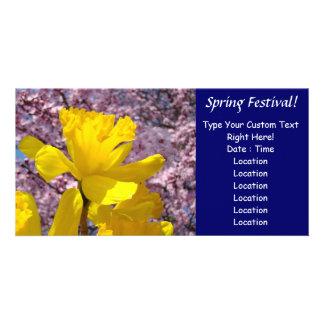 Spring Festival! Invitation Event Announcements