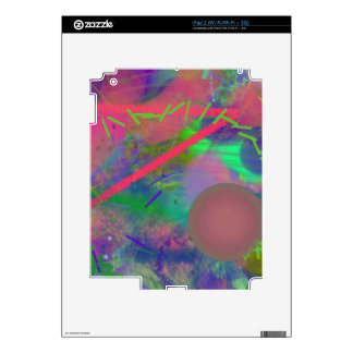 Spring Fever Abstract Pastel iPad 2 Skin