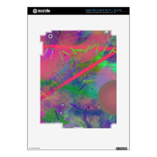 Spring Fever Abstract Pastel iPad 3 Skin