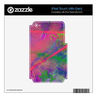 Spring Fever Abstract Pastel iPod Touch (4th Gen) iPod Touch 4G Skin