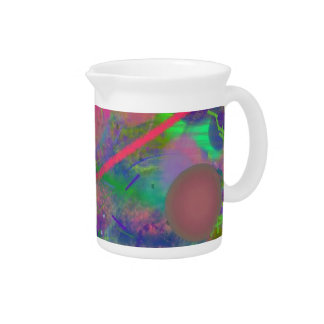 Spring Fever Abstract Pastel Pitcher