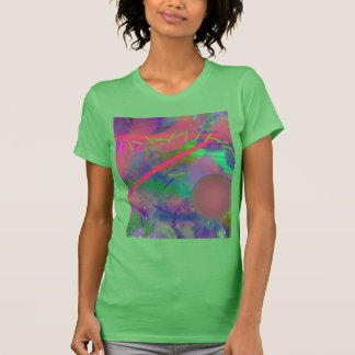 Spring Fever Abstract Pastel Women's Short Sleeve T-Shirt