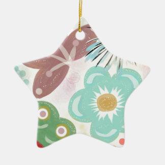 Spring Fever Ceramic Ornament