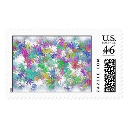 Spring Fever Postage Stamps