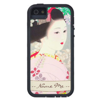 Spring Figure japanese lady woman Kato Shinmei iPhone SE/5/5s Case