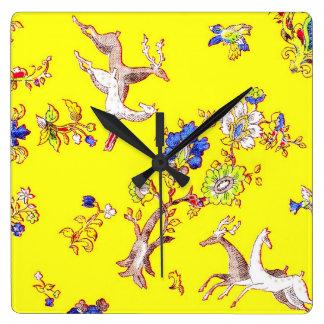 Spring Fling Clock