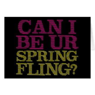 Spring Fling Greeting Cards