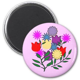 Spring Floral bouquet magnet
