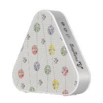 Spring Floral Circle Pattern Bluetooth Speaker