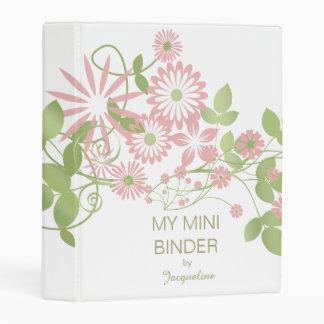 Spring Floral ID190 Mini Binder
