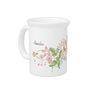 Spring Floral ID190 Pitcher