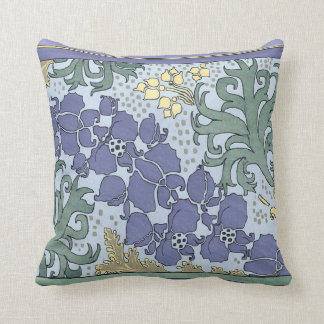 Spring Floral Mauve Square Pillow