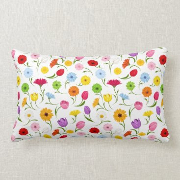 Professional Business Spring Floral Pillow