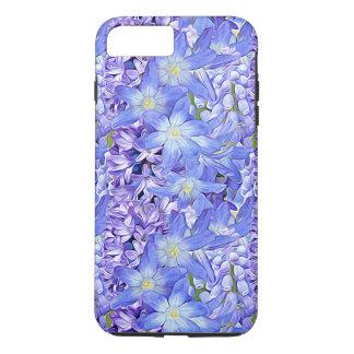 Spring Florals in Lavender and Blue iPhone 8 Plus/7 Plus Case