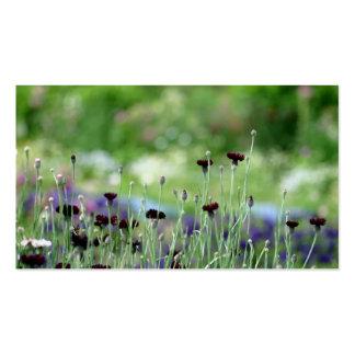 Spring Flower garden Business Card
