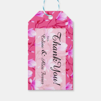 Spring Flower Garden | fuchsia Pack Of Gift Tags