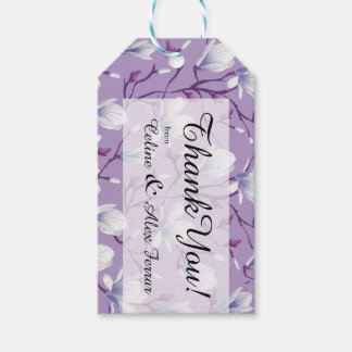 Spring Flower Garden | grape lilac Gift Tags