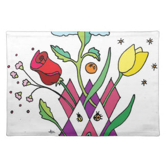 Spring Flower Garden Party/Shower Placemat